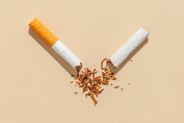 Slechte rookgewoonte