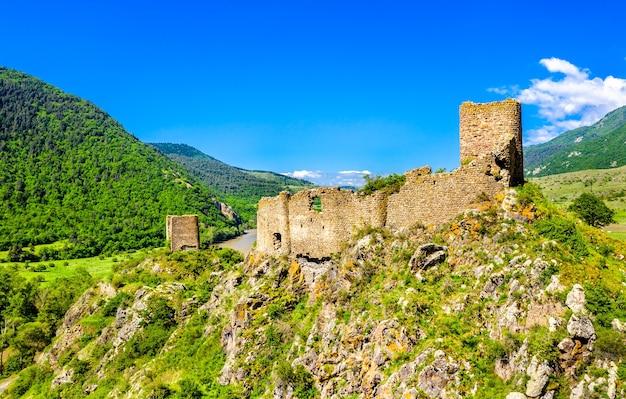 Slesa of moktseva-fort in samtskhe-javakheti, georgië