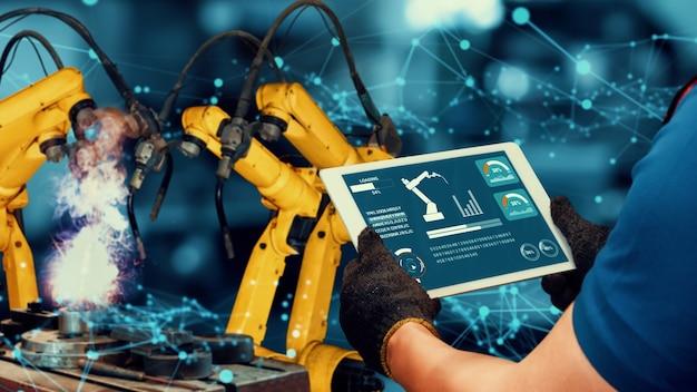 Slimme industrie robotarmen modernisering voor innovatieve fabriekstechnologie