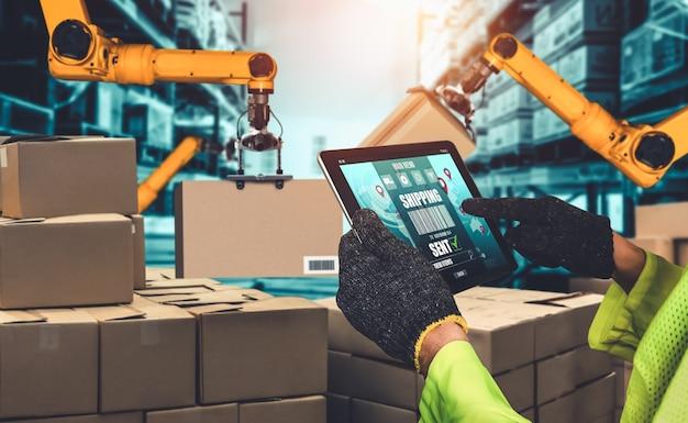Slimme robotarmsystemen voor innovatieve digitale magazijn- en fabriekstechnologie