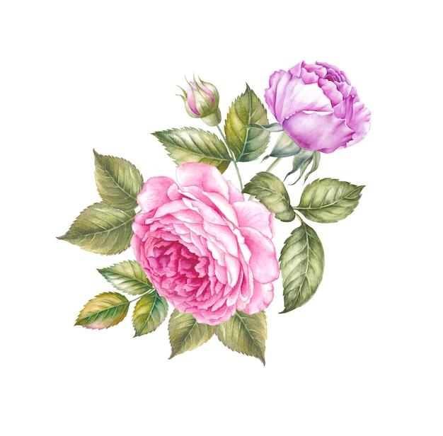 Slinger van bloemen