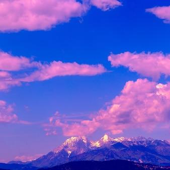 Slovenië. bergen. natuur reizen dromen concept