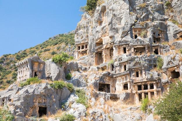 Sluit de verbazingwekkende gebouwen van cappadocië aan