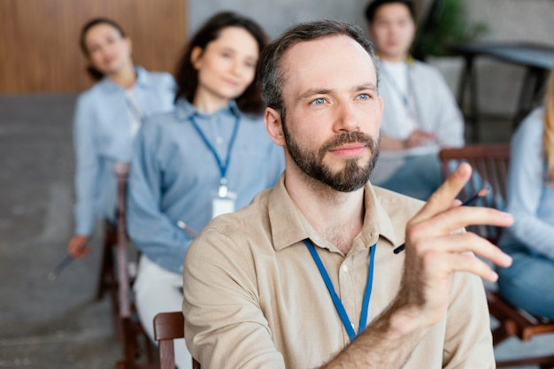 Sluit mensengroep in therapu