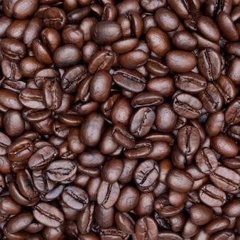 Sluit omhoog geschoten van koffieachtergrond