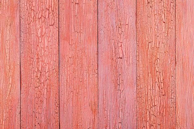 Sluit omhoog op gedetailleerde geschilderde houten planken