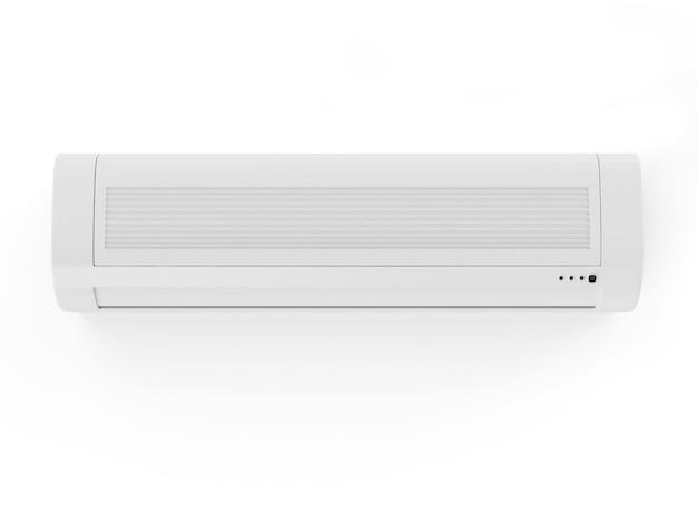 Sluit omhoog op geïsoleerde airconditioner