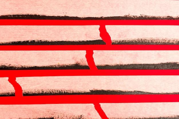 Sluit omhoog plakband op rood