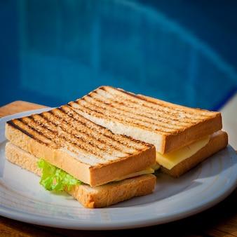 Sluit omhoog sandwich