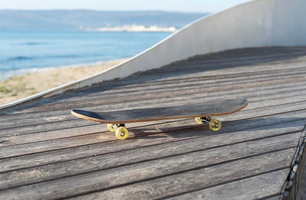Sluit omhoog skateboard
