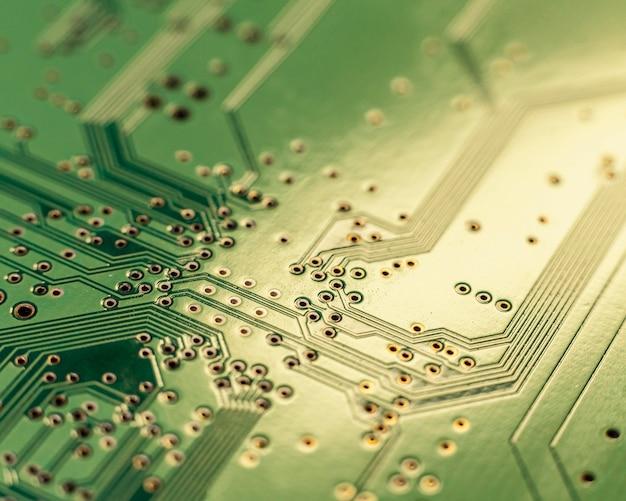 Sluit omhoog technologische achtergrond
