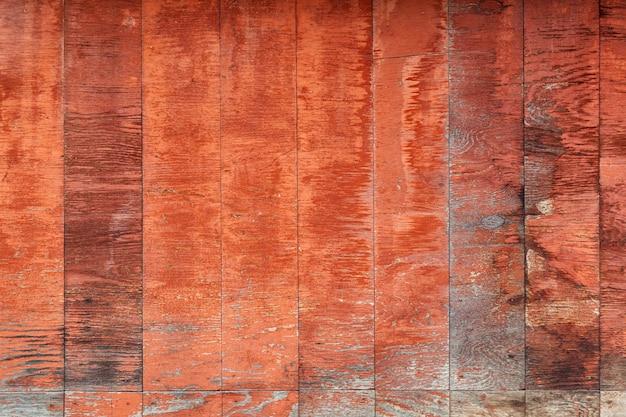 Sluit omhoog van bruine verticale houten muur