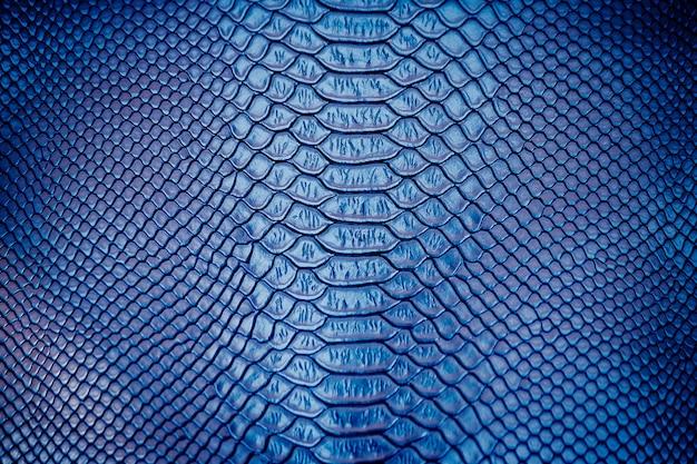 Sluit omhoog van de textuurgebruik van de luxeslang huid voor achtergrond