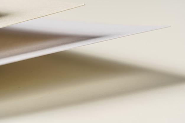 Sluit omhoog van document steekproeven voor ambachten en zaken