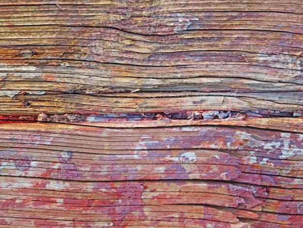 Sluit omhoog van houten textuur in openlucht