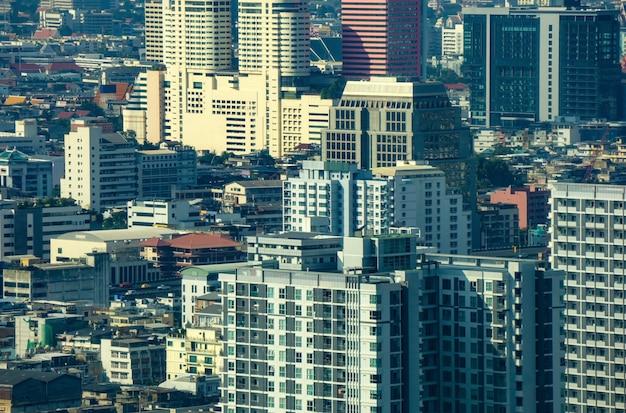 Sluit omhoog van stadsgebouwen