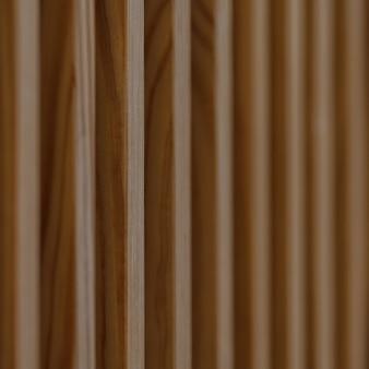 Sluit omhoog van verticale houten balken