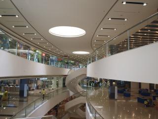 Sm city bijlage, winkelcentrum, architectuur