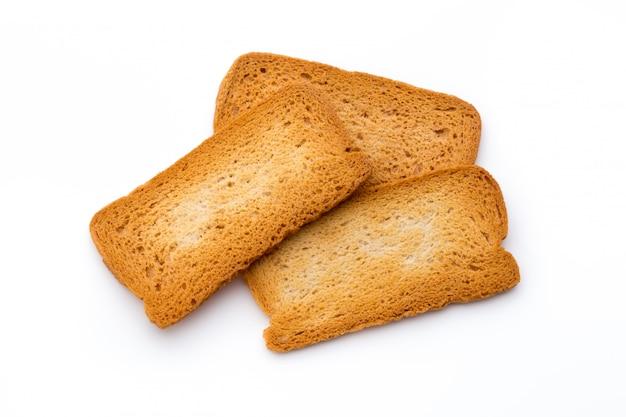 Smakelijke koekjeskoekjes op wit