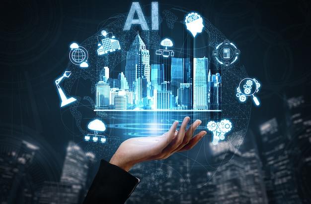 Smart city draadloos communicatienetwerk