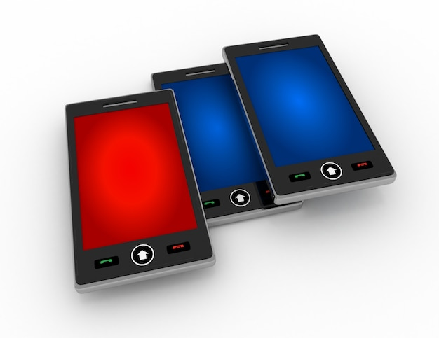 Smartphone-concept