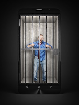 Smartphone is mijn kooi