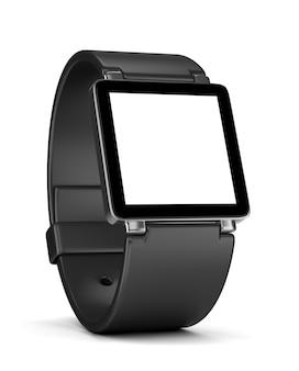 Smartwatch met wit leeg display
