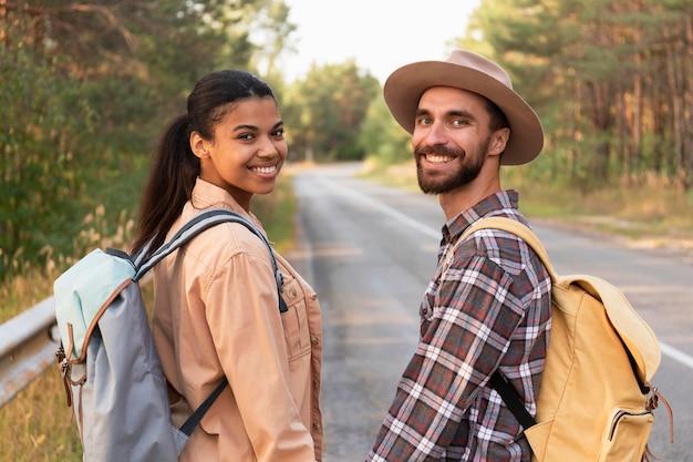 Smileypaar terugkijkend