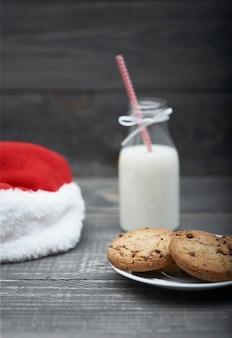Snack voor de kerstman is klaar