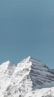 Sneeuw bedekt maroon bells mobiel behang