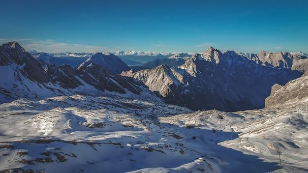 Sneeuw berglandschap