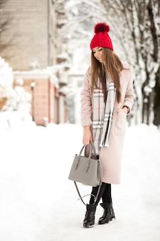 Sneeuw mooie ha winter mode