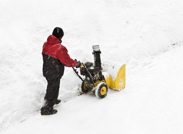 Sneeuw verwijderen