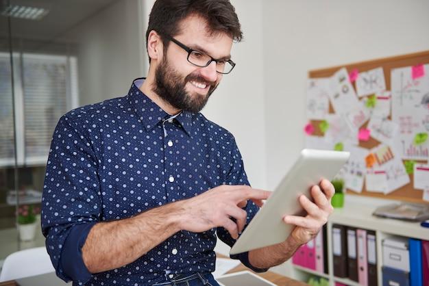 Snel draadloos internet in mijn kantoor kan sneller werken