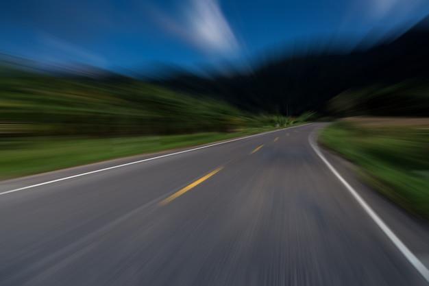 Snelle snelweg