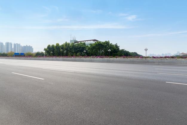Snelweg in guangzhou, china