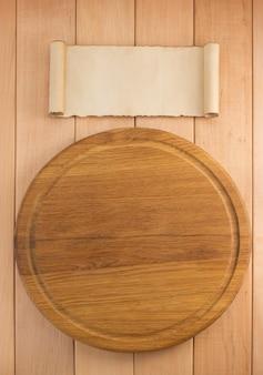 Snijplank op houten
