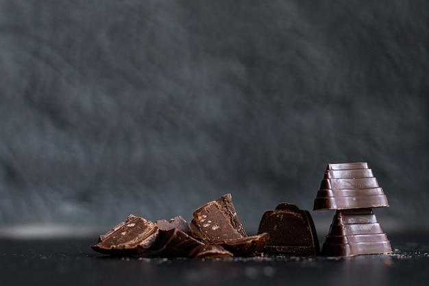 Snoepjes chocolade gevulde chocolaatjes truffel zoet dessert