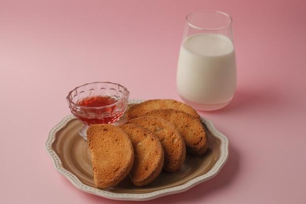 Snoepjes voor theecrackers, koekjes en pretzels