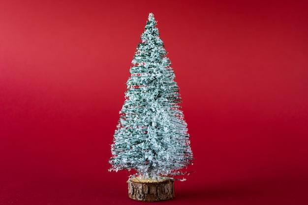 Snowcovered kerstboom
