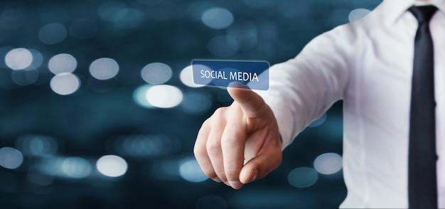 Social media-concept