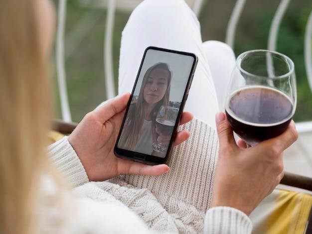 Sociale afstand van huis