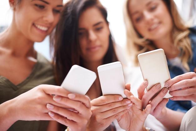 Sociale netwerken maken het leven interessanter