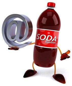 Soda 3d-teken