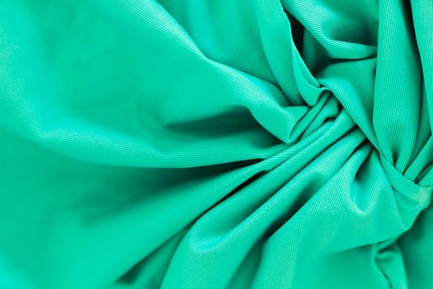 Soepele elegante lichtblauwe stof materiële textuur