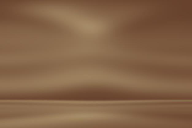Soepele, zachte bruinachtige gradiënt abstracte achtergrond. Premium Foto