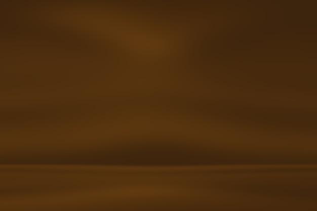 Soepele, zachte bruinachtige gradiënt abstracte achtergrond.