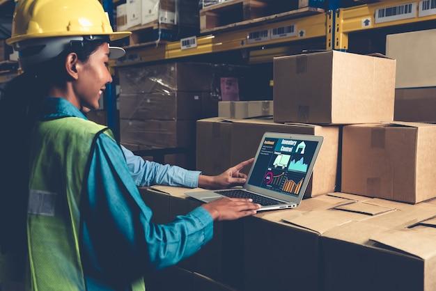 Software-applicatie voor magazijnbeheer