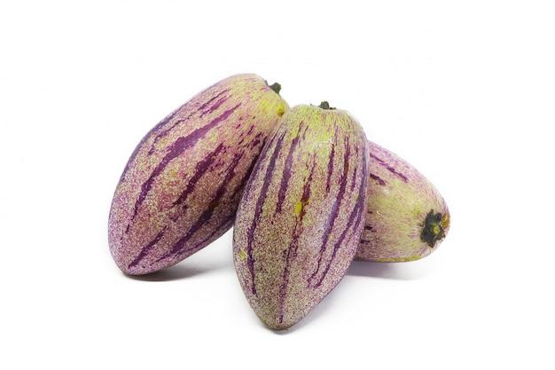 Solanum muricatum pepino