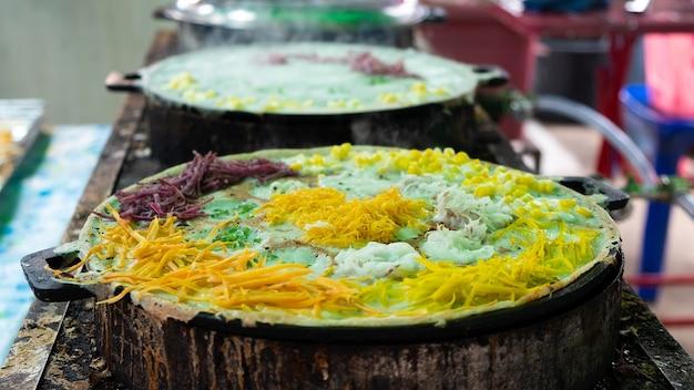 Soort thais snoepje op de hete pan